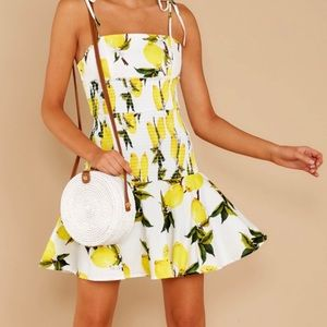 *NEW* English Factory Lemon Dress
